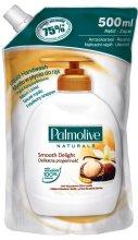 "Парфюми, Парфюмерия, козметика Течен сапун ""Макадамия"" - Palmolive Smooth Delight Refill Liquid Soap (сменящ се блок)"