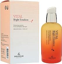 Парфюмерия и Козметика Изглаждаща витаминна емулсия за лице - The Skin House Vital Bright Emulsion