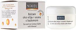 Парфюмерия и Козметика Балсам с бадемово масло за околоочния контур и устни - Nikel Eye and Lip Contour Balm