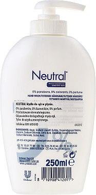 Гъст сапун - Neutral 0% Hand Wash — снимка N2