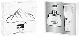 Парфюмерия и Козметика Montblanc Legend Spirit - Комплект (тоал. вода/50ml + душ гел/100ml)