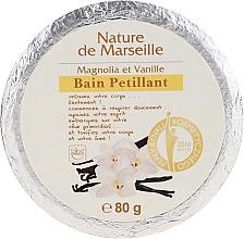 Парфюмерия и Козметика Бомбичка за вана с аромат на магнолия и ванилия - Nature de Marseille Magnolias&Vanilla