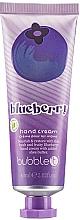 "Парфюмерия и Козметика Крем за ръце ""Боровинка"" - TasTea Edition Blueberry Hand Cream"
