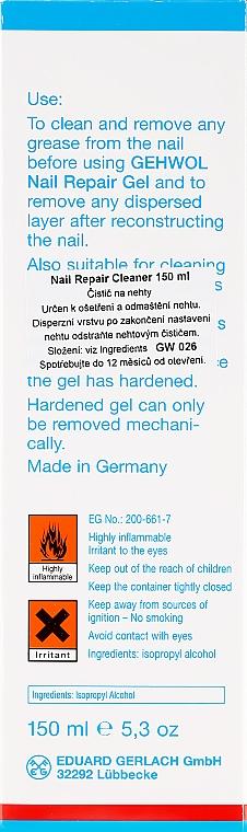 Лакочистител за нокти - Gehwol Nail Repair Cleaner — снимка N3