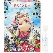 Парфюми, Парфюмерия, козметика Escada Turquoise Summer - Тоалетна вода (мостра)