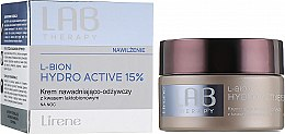 Парфюмерия и Козметика Хидратиращ подхранващ нощен крем за лице - Lirene Lab Therapy Moisture L-Bion Hydro Active 15% Cream