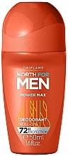 Парфюмерия и Козметика Рол-он дезодорант - Oriflame North for Men Power Max