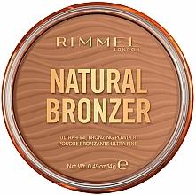 Парфюмерия и Козметика Бронзираща пудра - Rimmel Natural Bronzer Waterproof Powder
