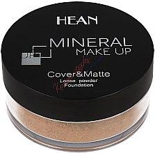 Парфюми, Парфюмерия, козметика Минерална пудра за лице - Hean Mineral Make Up Cover&Matte Loose Mineral Powder
