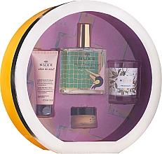Парфюмерия и Козметика Комплект - Nuxe Culte Prodigieux Box (сухо масло/100ml + крем за ръце/30ml + балсам за устни/15ml + свещ)