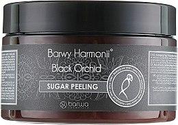 """Парфюми, Парфюмерия, козметика Пилинг за тяло """"Черна орхидея"""" - Barwa Harmony Sugar Peeling"""