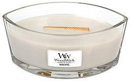 Парфюмерия и Козметика Ароматна свещ в чаша - WoodWick Hearthwick Flame Ellipse Candle Warm Wool