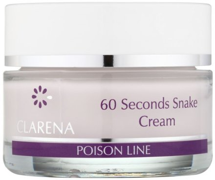 60-секунден крем с отрова от кобра - Clarena Poison Line 60 Seconds Snake Cream
