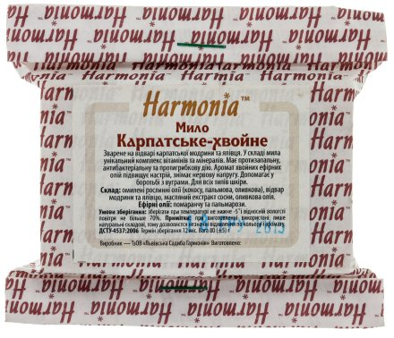 """Мыло """"Карпатско-хвойное"""" - Harmonia Soap — снимка N1"""