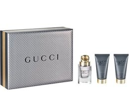 Парфюми, Парфюмерия, козметика Gucci Made to Measure - Комплект (edt/90ml + ash/balm/75ml + sh/gel/50ml)