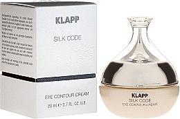 Парфюмерия и Козметика Околоочен крем за зряла кожа - Klapp Silk Code Eye Contour Cream