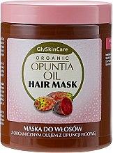 Парфюмерия и Козметика Маска за коса с органично масло от опунция - GlySkinCare Organic Opuntia Oil Hair Mask
