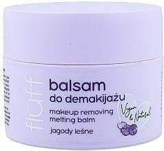 "Парфюмерия и Козметика Балсам за почистване на грим ""Боровинки"" - Fluff Makeup Remover Balm Wild Blueberries"