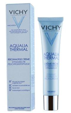 """Наситен крем """"Динамично овлажняващ"""" - Vichy Aqualia Thermal Dynamic Hydration Riche Cream Tube — снимка N1"""