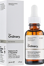 Парфюмерия и Козметика Серум за лице с ретинол 0,2% в сквалан - The Ordinary Retinoids Retinol 0.2% In Squalane