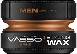 Парфюмерия и Козметика Моделиращ восък за коса - Vasso Professional Hair Styling Wax Spike