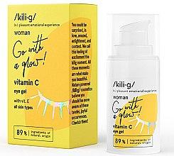 Парфюмерия и Козметика Околоочен гел с витамин С - Kili·g Woman Eye Gel