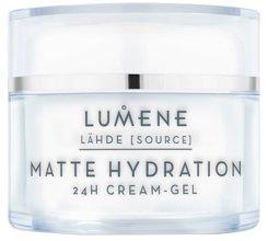 Парфюми, Парфюмерия, козметика Матиращ крем-гел за лице - Lumene Lahde Matt Hydration 24H Cream-Gel