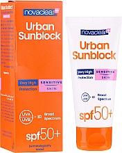 Парфюмерия и Козметика Слънцезащитен крем за лице за чувствителна кожа - Novaclear Urban Sunblock Protective Cream Sensitive Skin SPF50