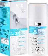 Парфюмерия и Козметика Слънцезащитен лосион, без аромат - Eco Cosmetics Sun Lotion SPF 30
