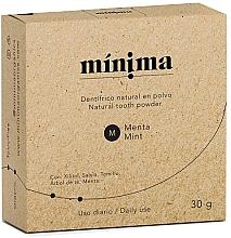 Парфюмерия и Козметика Натурална пудра за зъби - Minima Organics Natural Tooth Powder