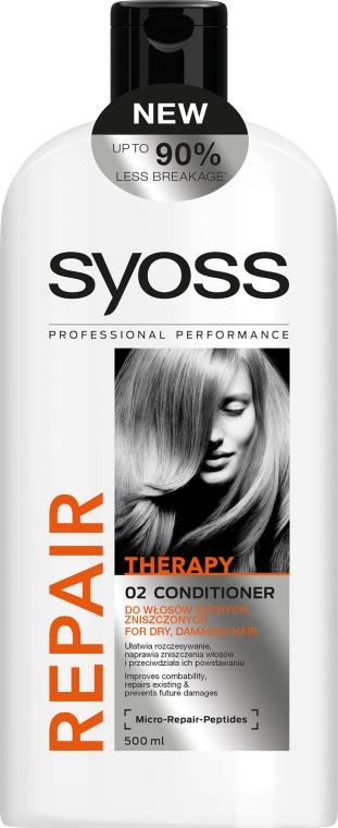 Балсам за суха и увредена коса - Syoss Repair Therapy — снимка N1