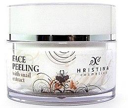 Парфюми, Парфюмерия, козметика Пилинг за лице с екстракт от охлюв - Hristina Cosmetics Orient Snail Peeling