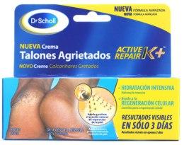 Парфюмерия и Козметика Крем за напукана кожа на петите - Scholl Active Repair Regenerating Cream