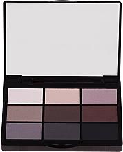 Парфюмерия и Козметика Палитра сенки за очи - Gosh 9 Shades Eye Palette