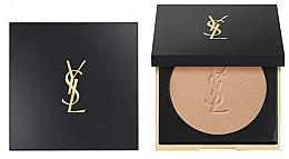 Парфюми, Парфюмерия, козметика Компактна пудра за лице с матиращ ефект - Yves Saint Laurent Encre De Peau All Hours Setting Powder