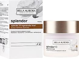 Парфюмерия и Козметика Регенериращ нощен крем за лице - Bella Aurora Splendor 10 Total Regeneration Night Cream