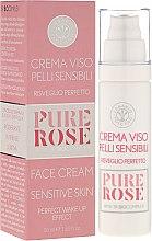 Парфюми, Парфюмерия, козметика Крем за чувствителна кожа - Erbario Toscano Pure Rose 3r Biocomplex Cream