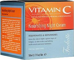 Парфюмерия и Козметика Подхранващ нощен крем за лице - Frulatte Vitamin C Nourishing Night Cream