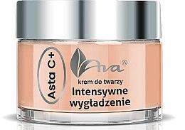 Парфюмерия и Козметика Нощен крем за лице - Ava Laboratorium Asta C+ Intensive Smoothing