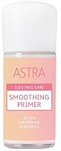Парфюмерия и Козметика Изглаждаща основа за нокти - Astra Make-up Sos Nails Care Smoothing Primer