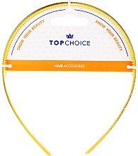 Парфюмерия и Козметика Диадема за коса, 27901, жълта - Top Choice