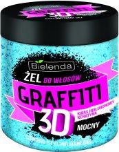 Парфюмерия и Козметика Гел за коса - Bielenda Graffiti 3D Niebieski