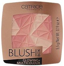 Парфюмерия и Козметика Руж за лице - Catrice Blush Box Glowing + Multicolour