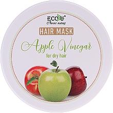 Парфюмерия и Козметика Маска за суха коса с ябълков оцет - ECO U Apple Vinegar Hair Mask For Dry Hair