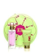 Парфюми, Парфюмерия, козметика Escada Joyful - Комплект (edp/75ml + b/lot/50ml)