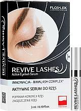 Парфюмерия и Козметика Серум за растеж на мигли - Floslek Revive Lashes Eyelash Enhancing Serum