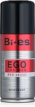 Парфюмерия и Козметика Дезодорант - Bi-es Ego Red Edition