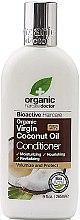 Парфюмерия и Козметика Балсам за коса с кокосово масло - Dr. Organic Virgin Coconut Oil Conditioner