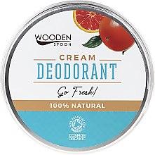 Парфюмерия и Козметика Крем дезодорант - Wooden Spoon Go Fresh Cream Deodorant