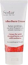Парфюмерия и Козметика Крем срещу леки слънчеви и термични изгаряния - Sostar After Burn Cream